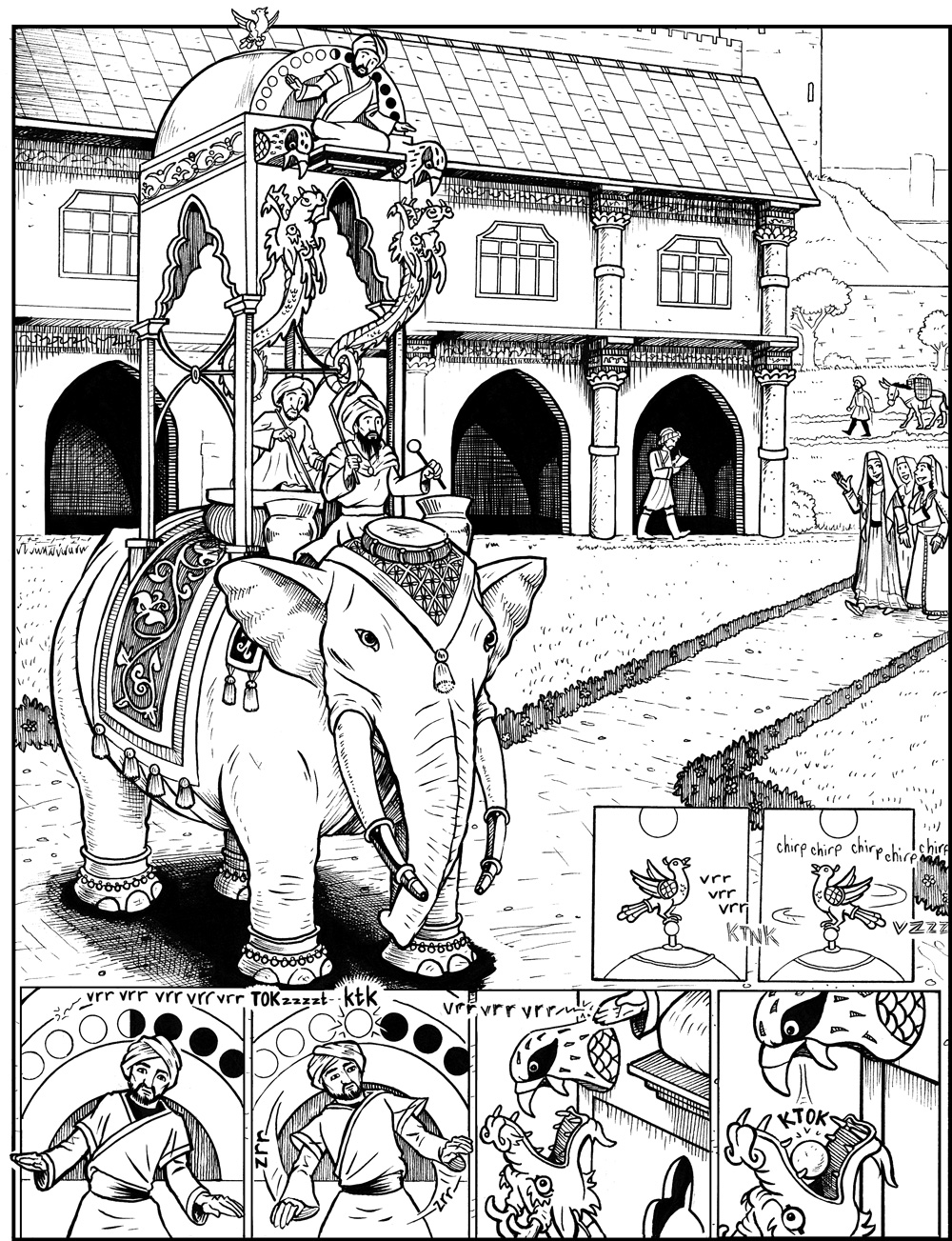 The Elephant Clock